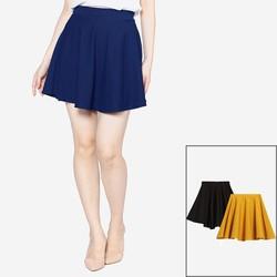 Bộ 3 Chân váy xòe xếp ly trên gối cao cấp ZENKO CS3 007 B Y N