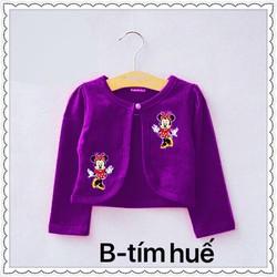 Áo khoác chuột Mickey dễ thương cho bé gái 12-30kg
