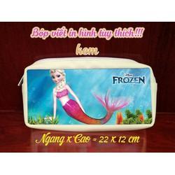 Hộp bút Frozen Nữ Hoàng Băng Giá