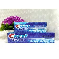 Kem đánh răng Crest 3D White Arctic Fresh USA 198g