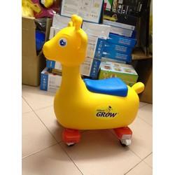 Xe chòi chân kiêm thùng đựng đồ chơi cho bé hàng khuyến mãi Abbott