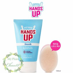 Kem Tẩy Lông Put Your Hands Up Smooth In-shower Hair Removal Cream
