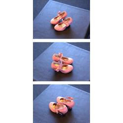 Giày búp bê nơ cao gót tròn size lớn