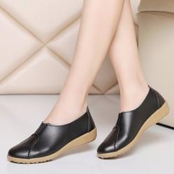 Giày mọi thời trang nữ da đế mềm - LN667