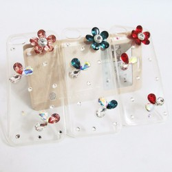 Ốp lưng dẻo iPhone 5-5S trong suốt hoa văn