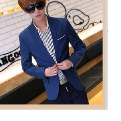 Áo vest nam body màu xanh coban lịch lãm