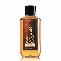 Gel tắm gội Bath Body Works 2in1 Dark Amber 295ml