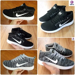 Giày thể thao nam Flyknit Chukka cổ cao full hộp size 40 - 44