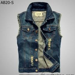 Áo gile bò nam AB20S - có nhiều màu