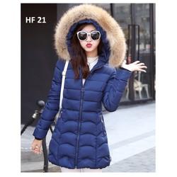 Áo khoác PHAO nữ siêu ấm chiết eo, chất đẹp, mặc tôn dáng