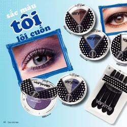 Phấn mắt Veryme cho ánh nhũ và ánh kim loại nổi bật