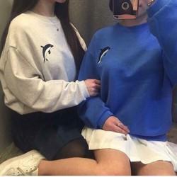 Áo sweater tay dài