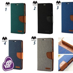 Bao da IPHONE 6s Mercury Canvas Diary hàn quốc iPhone