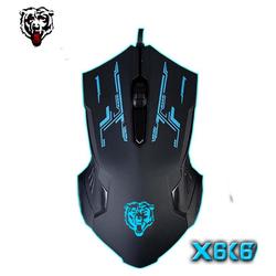 Chuột chơi game có dây Mouse gaming ANCOM GL SCH-02X6 Đen