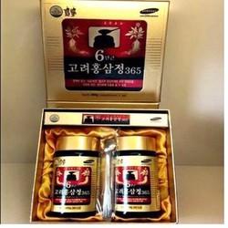 Cao hồng sâm 365 Hàn Quốc 2lọ x240g