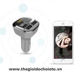 Tẩu  MP3  Bluetooth kèm 2 cổng USB BT 20