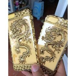 Ốp silicon vàng rồng