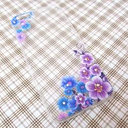 Ốp lưng đính đá hoa văn iPhone 6 Plus tuyệt đẹp mẫu 7
