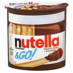 bánh que chấm chocolate Nutella and Go - hàng xách tay từ Mỹ