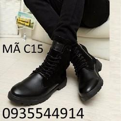 Giày bốt nam cao cấp C15