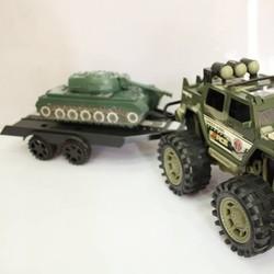 Mô hình xe kéo quân sự
