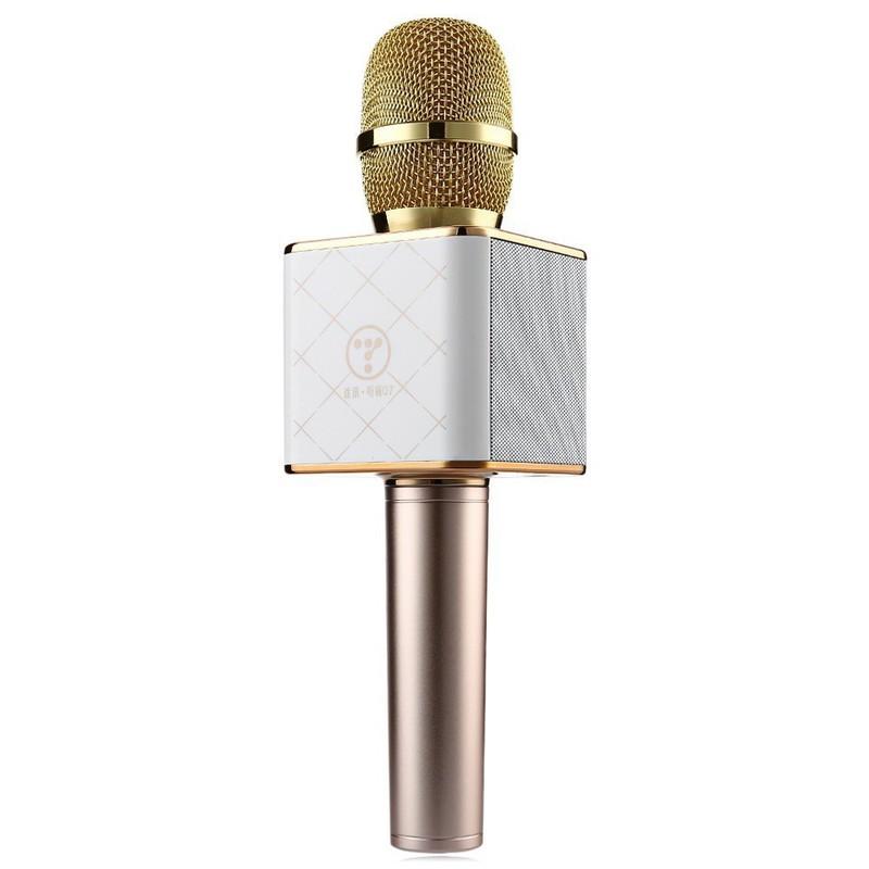 Micro Karaok Bluetooth Q7 Tặng Kèm Đèn Led USB 10