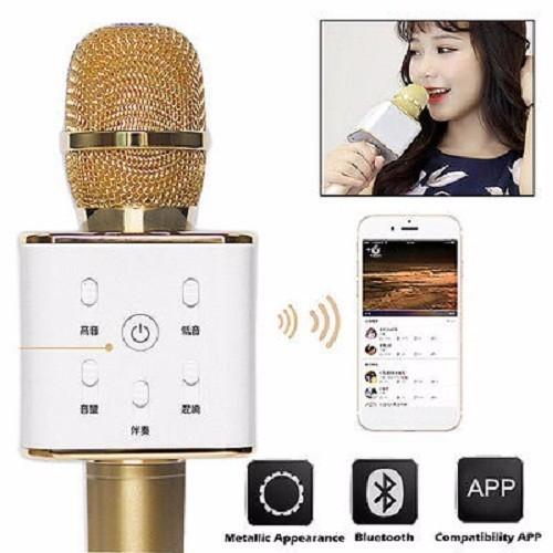 Micro Karaok Bluetooth Q7 Tặng Kèm Đèn Led USB 8
