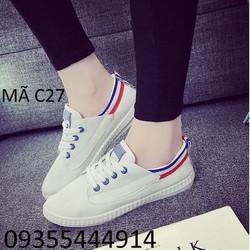 Giày lười thể thao cá tính C27