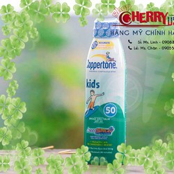 Xịt chống nắng Trẻ em COPPERTONE KIDS CONTINUOUS SPRAY SPF 50