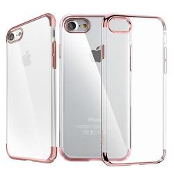 Ốp lưng Iphone 7 trong suốt viền màu Baseus Glitter