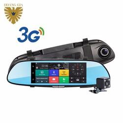 CAMERA HÀNH TRÌNH GƯƠNG ANDROID 3G DVR F1 HOÀNG GIA