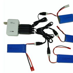 Sạc 4 cổng usb dùng cho pin flycam
