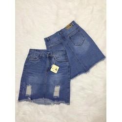 Chân váy jeans size SML