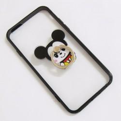 Ốp lưng nhựa dẻo iPhone 6-6S-6G 4.7 viền màu đen trong suốt mẫu 2