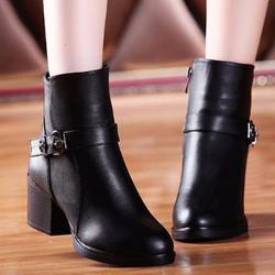 Giày boot nữ cao cấp sang trọng B054