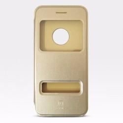 Bao da iPhone 6-6S hiệu Baseus màu vàng kem giá tốt nhất