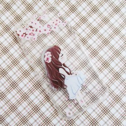 Ốp lưng silicon iPhone 6-6S hình cô gái bông hoa dễ thương mẫu 4