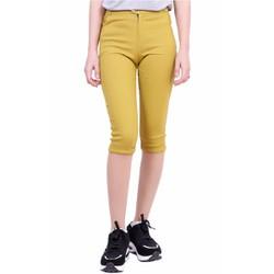 Quần Lửng Nữ Kaki Chun Co Giãn Bó Ống Skinny Jeans ZENKO CS4  001 Y