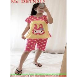 Đồ bộ nữ mặc nhà lửng hình nhân vật hoạt hình dễ thương DBTN515
