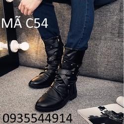 giày bốt nam phong cách cao cấp C54