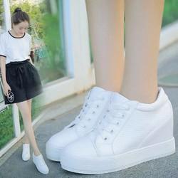 FREE SHIP - Giày sneaker nữ nâng đế dễ thương Hàn Quốc - SG0322