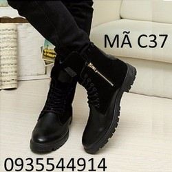giày bốt nam chất cao cấp C37
