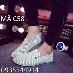 Giày nam hàn quốc mẫu hot 2016 C58