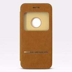 Bao da iPhone 6-6S hiệu Baseus màu nâu giá tốt nhất