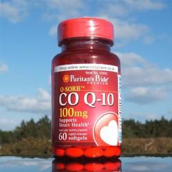 Viên uống hỗ trợ tim mạch CO Q10 100mg Puritan Pride của Mỹ 60 viên