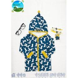 áo khoác có nón cho bé trai hoặc bé gái
