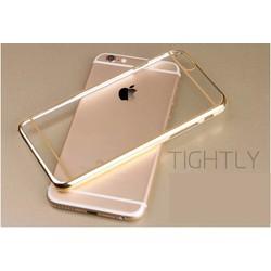 Ốp lưng iPhone 5 dẻo mạ vàng