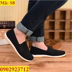 Giày Lười Nam Cá Tính Hàn Quốc Siêu Bền - S8