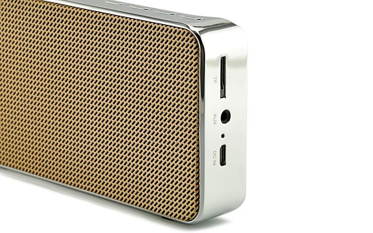 Loa Bluetooth đa năng JY-31 vàng đồng 5