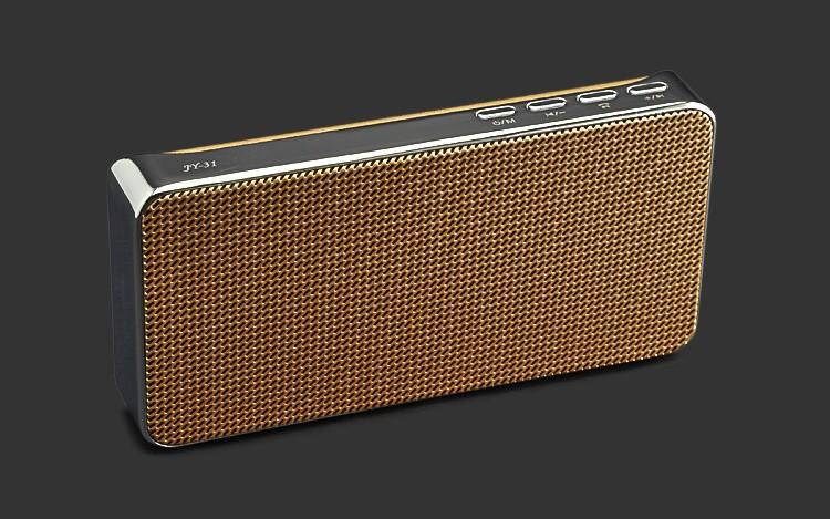 Loa Bluetooth đa năng JY-31 vàng đồng 1